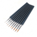 9 pcs High Quality Painting Brushes Detail Set - Paint By Number Shop