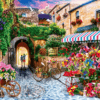 Paint By Numbers Kit Landscape Flower - Paint By Numbers Kit Shop