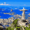 Paint by Numbers Kit Landscape Brazil - Paint By Numbers Kit Shop