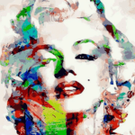Paint By Numbers Kit Marilyn Monroe - Paint By Numbers Kit Shop