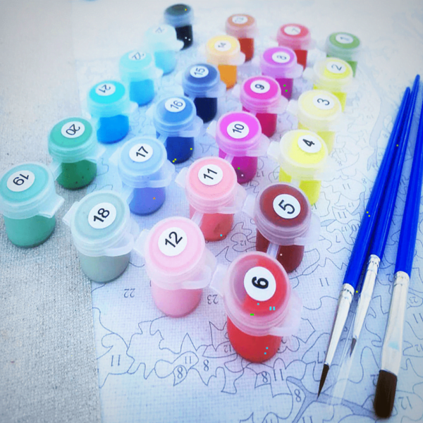 Paint By Numbers Kit Scenery - Paint By Numbers Kit Shop