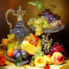 Paint by Numbers Kit Fruit Grapes - Paint By Numbers Kit Shop