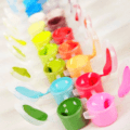 Cute Colorful Glasses Frog Painting By Number Kit - Paint By Number Shop
