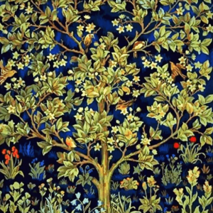Paint By Numbers Kit Tree of Life By William Morris - Paint By Numbers Kit Shop