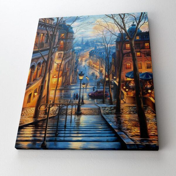 Paint By Numbers Kit Landscape Street - Paint By Numbers Kit Shop