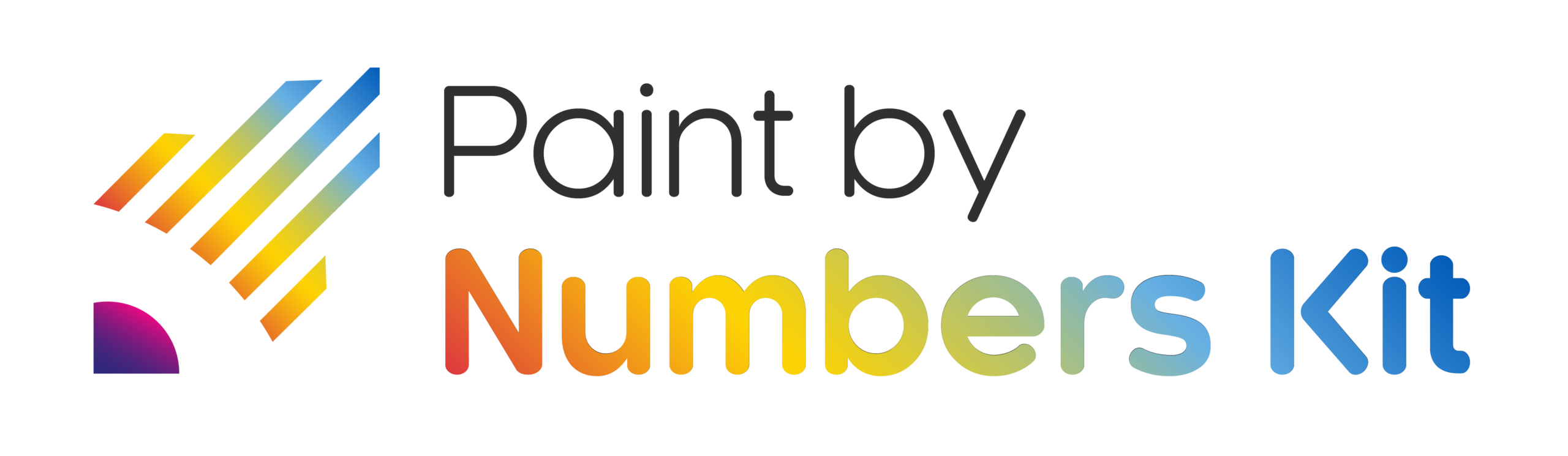 Logo paint by numbers kit shop